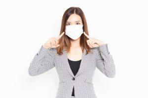 マスクによる部分乾燥が激増