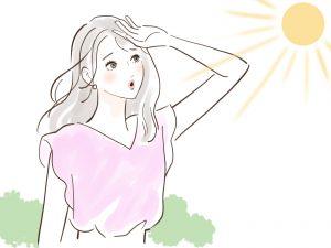 日焼けは肌を老化させる